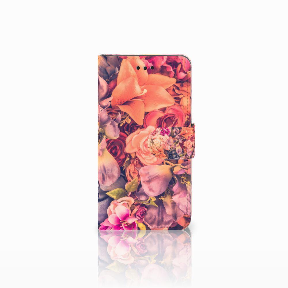 Samsung Galaxy J2 Pro 2018 Boekhoesje Design Bosje Bloemen