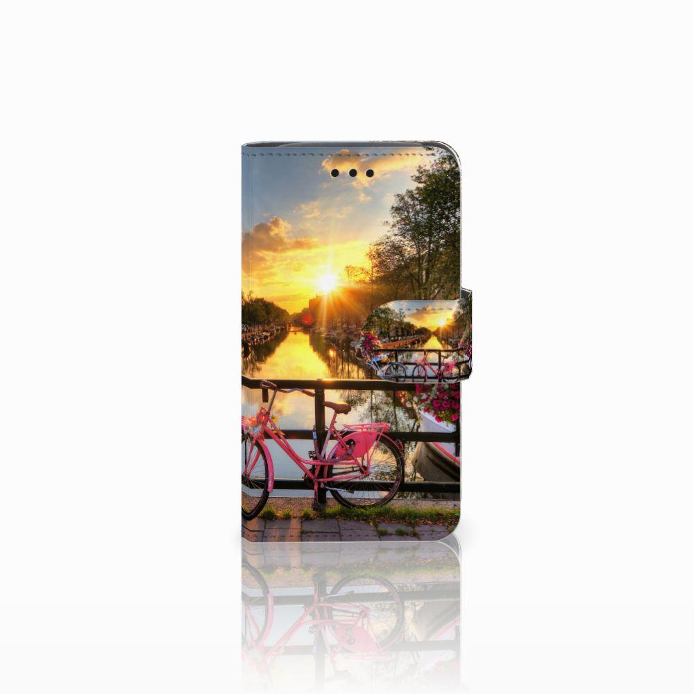Samsung Galaxy Core i8260 Uniek Boekhoesje Amsterdamse Grachten