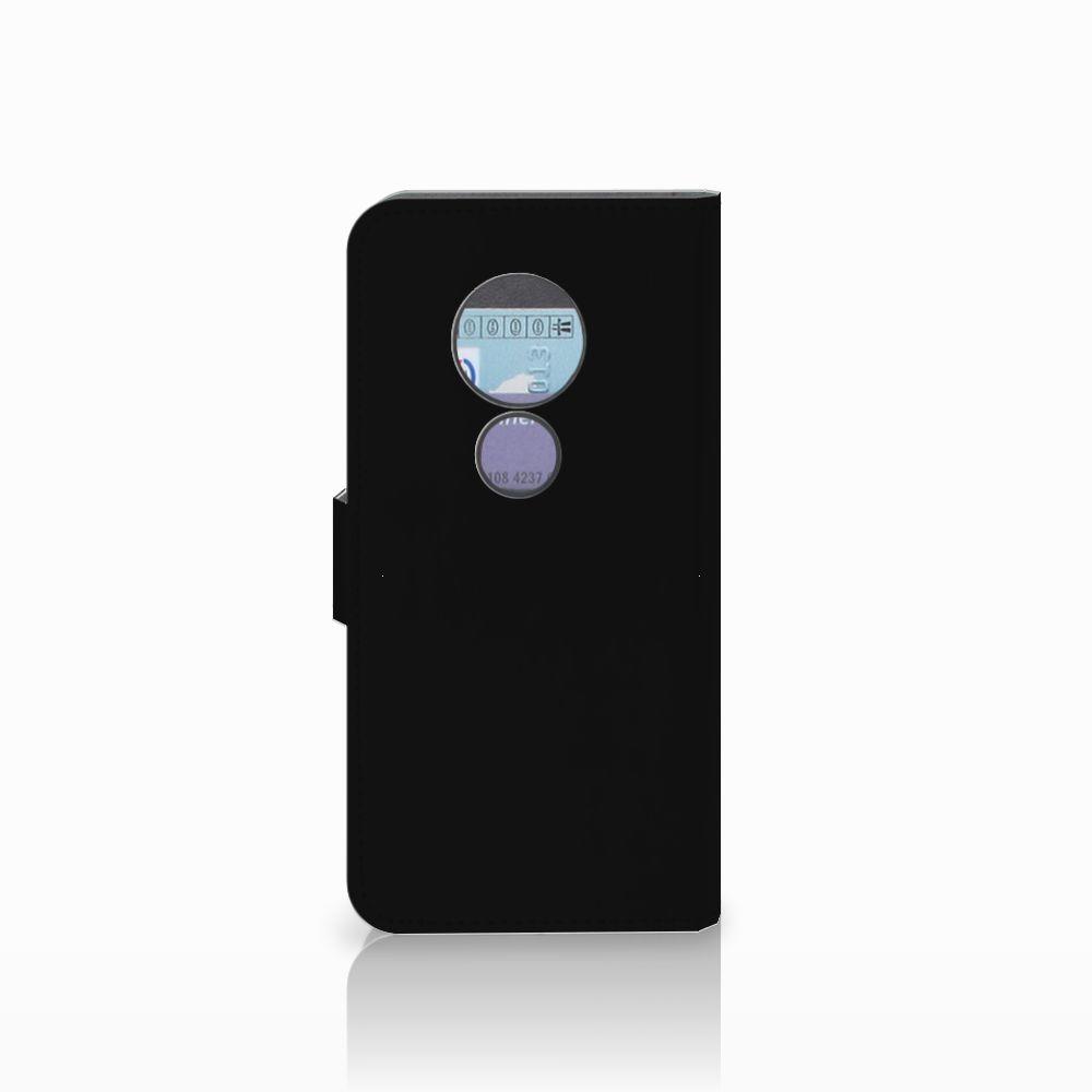 Motorola Moto G6 Play Wallet Case met Pasjes Popart Oh Yes