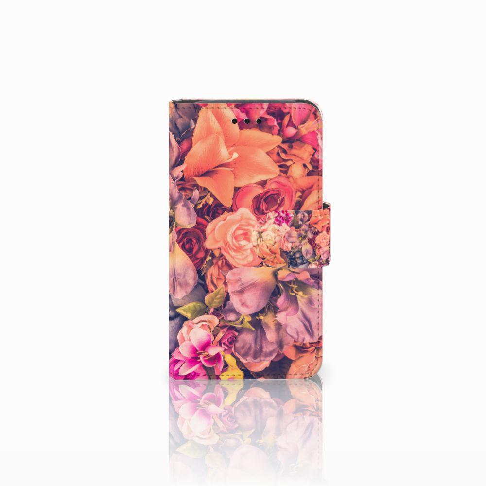 Samsung Galaxy Core i8260 Boekhoesje Design Bosje Bloemen