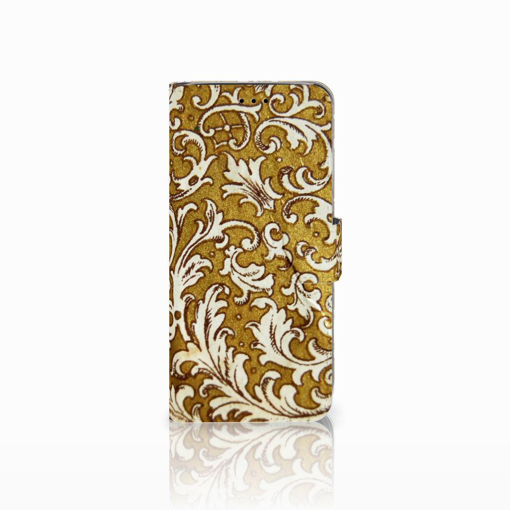 Samsung Galaxy A6 2018 Boekhoesje Design Barok Goud