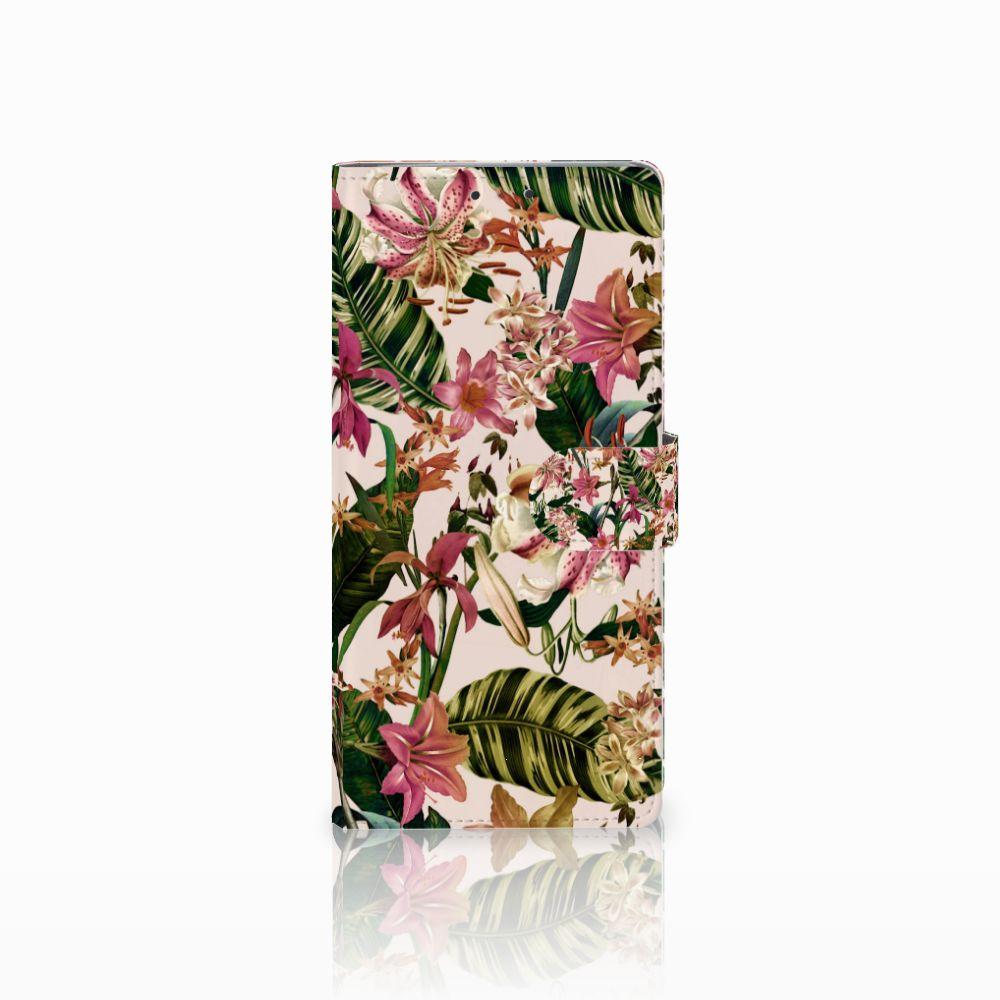 HTC U Ultra Uniek Boekhoesje Flowers
