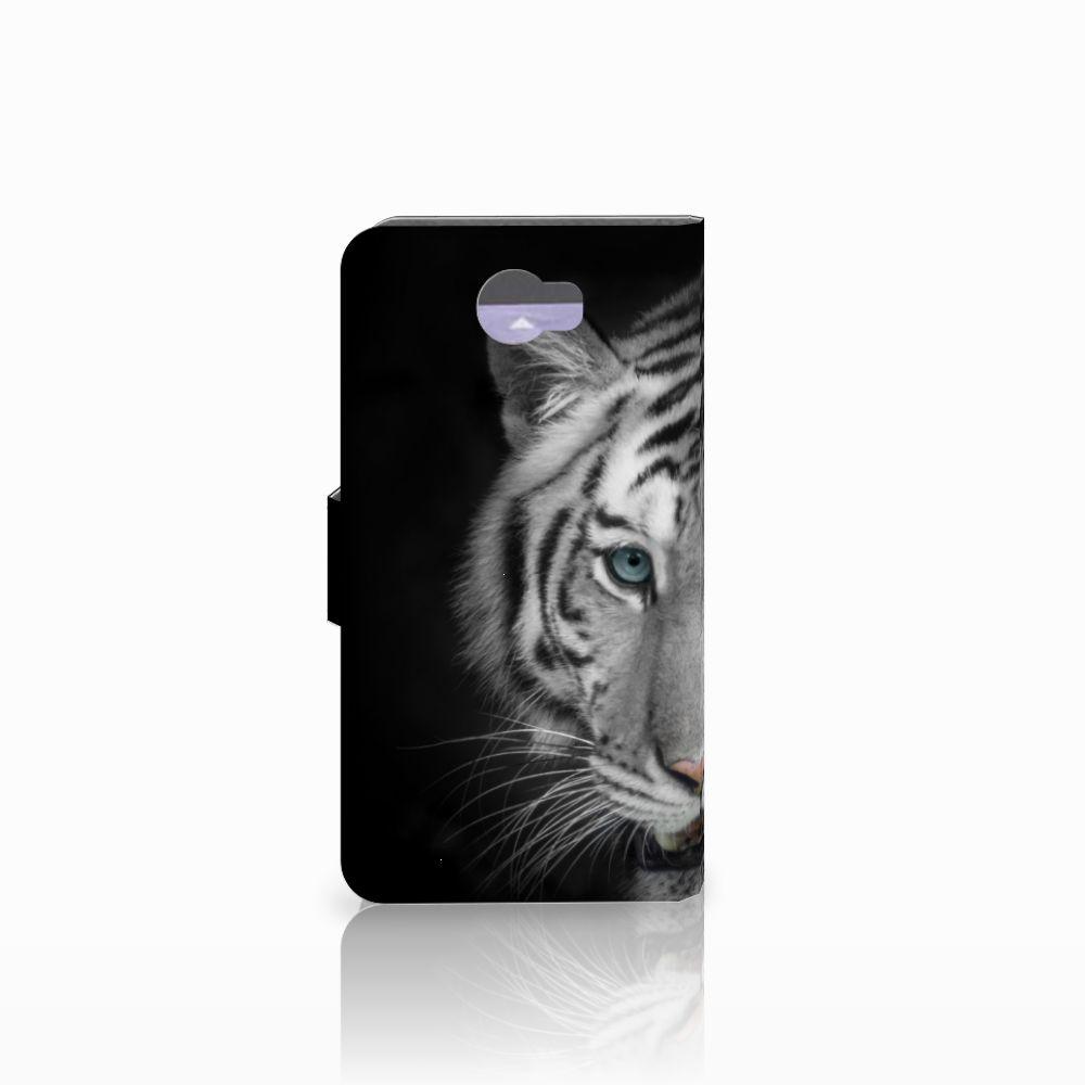 Huawei Y5 2 | Y6 II Compact Telefoonhoesje met Pasjes Tijger