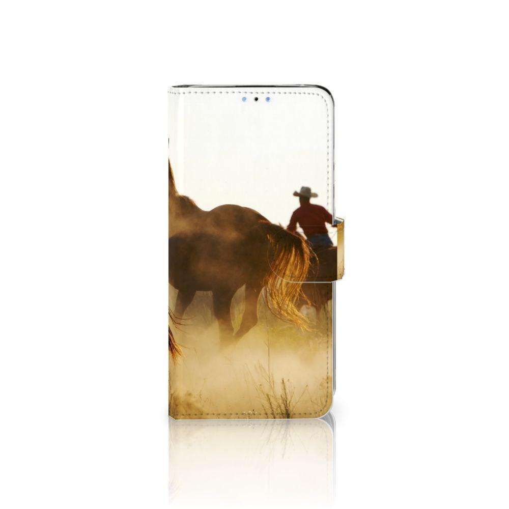 Huawei P30 Lite (2020) Telefoonhoesje met Pasjes Design Cowboy