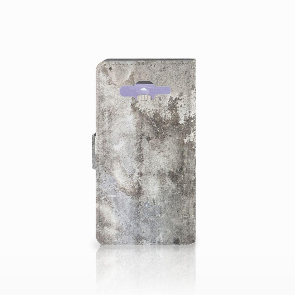 Samsung Galaxy J5 (2015) Bookcase Beton Print