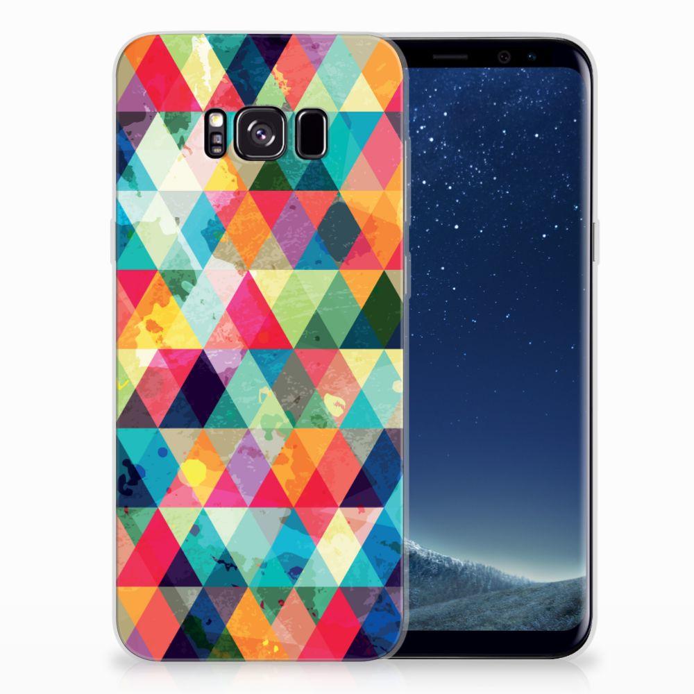 Samsung Galaxy S8 Plus TPU bumper Geruit