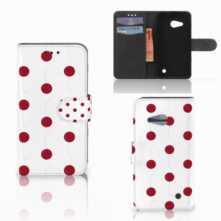 Microsoft Lumia 550 Book Cover Cherries