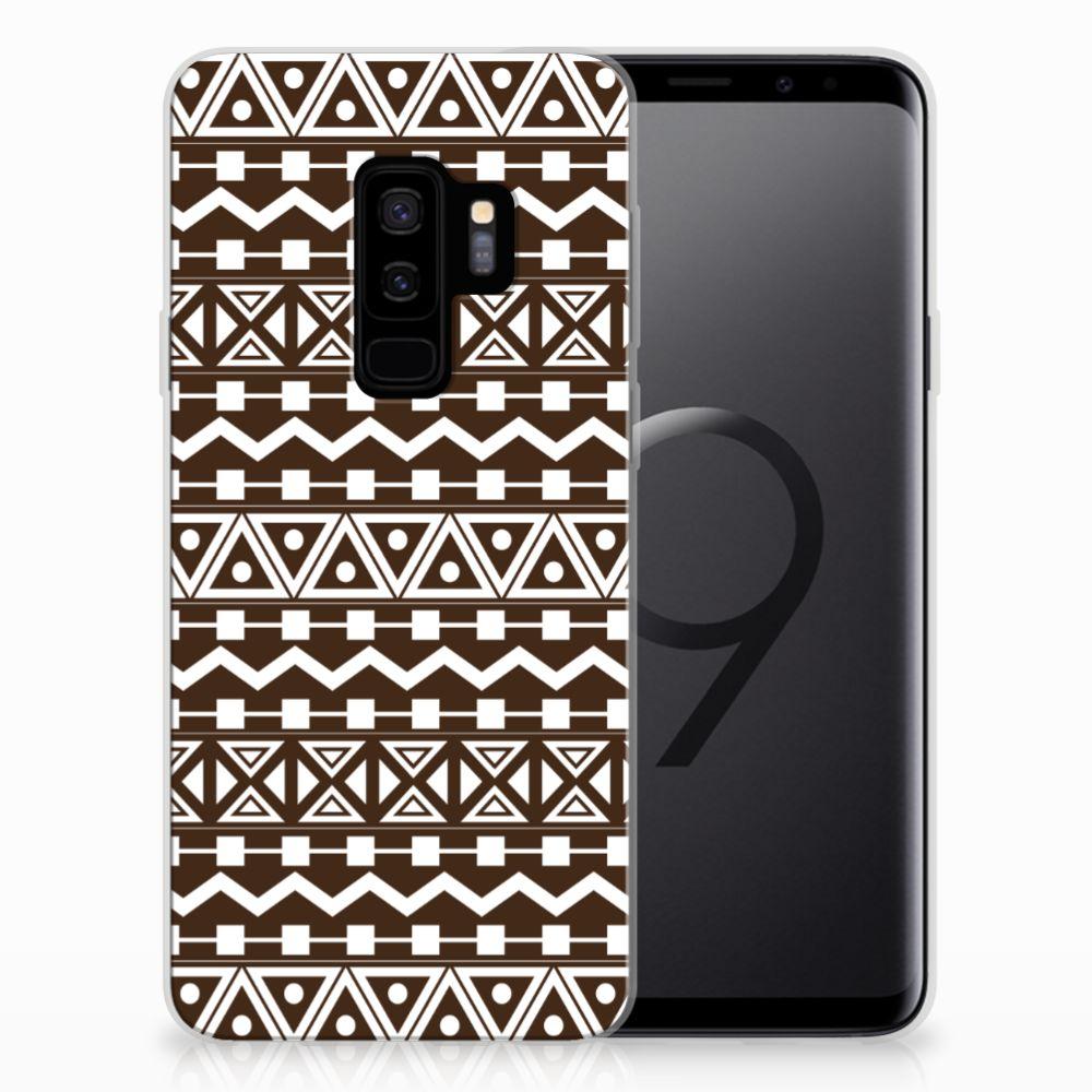 Samsung Galaxy S9 Plus TPU bumper Aztec Brown