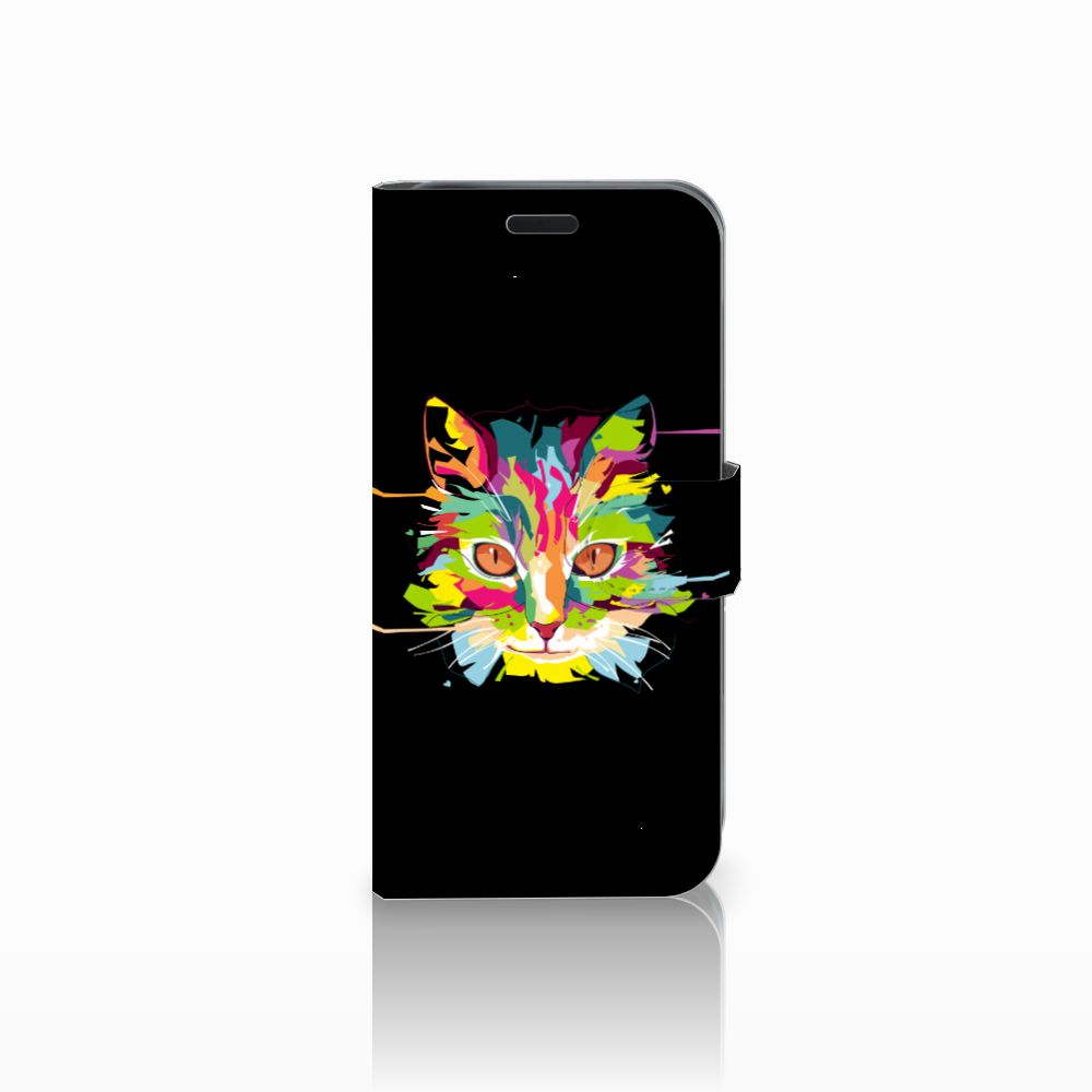 Acer Liquid Z630   Z630s Uniek Boekhoesje Cat Color