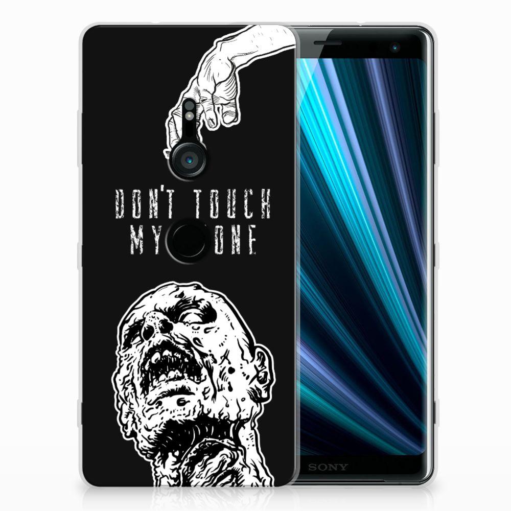 Sony Xperia XZ3 Uniek TPU Hoesje Zombie