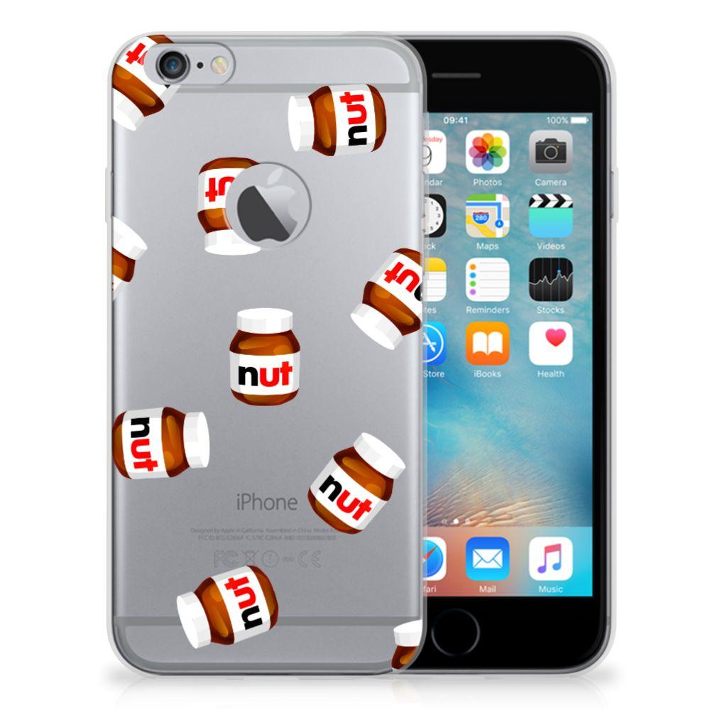 Apple iPhone 6 Plus   6s Plus Siliconen Case Nut Jar