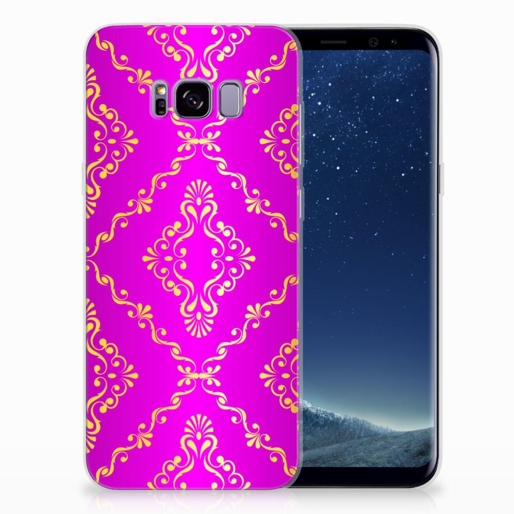 Samsung Galaxy S8 Plus Uniek TPU Hoesje Barok Roze