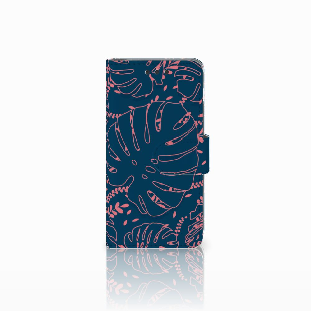 Samsung Galaxy A3 2016 Boekhoesje Design Palm Leaves