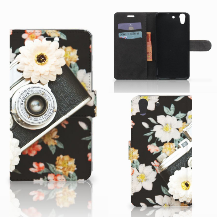 Huawei Y6 II | Honor 5A Telefoonhoesje met foto Vintage Camera