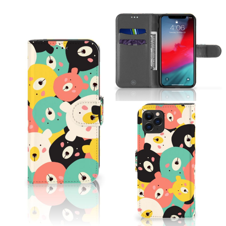 Apple iPhone 11 Pro Leuk Hoesje Bears