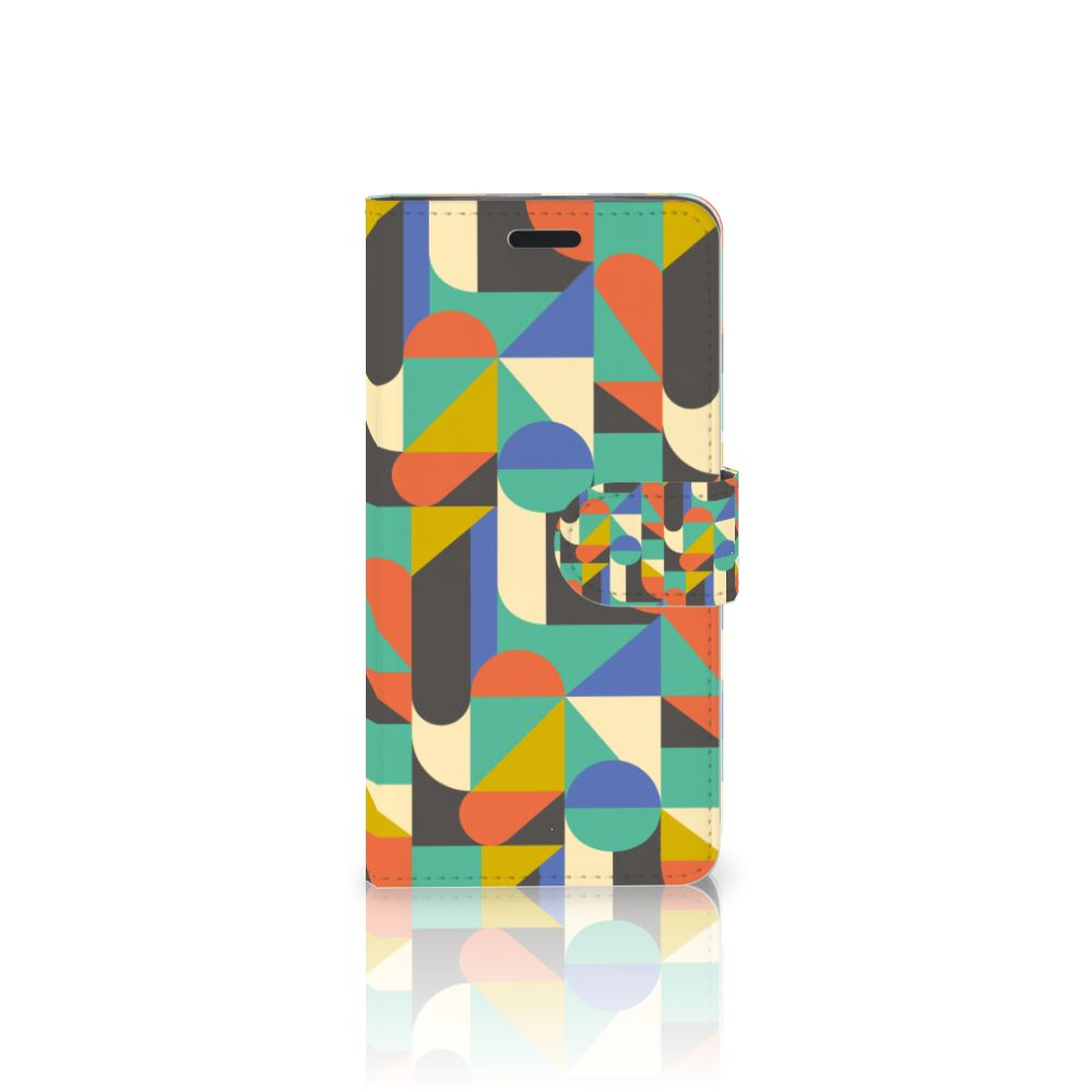 HTC 10 Uniek Boekhoesje Funky Retro