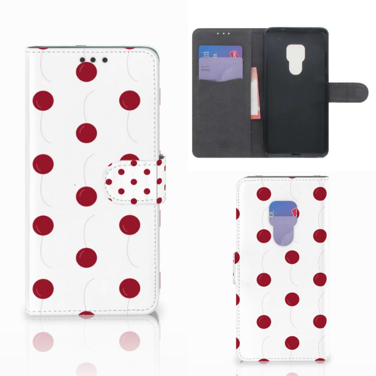 Huawei Mate 20 Book Cover Cherries