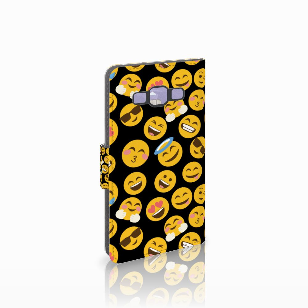 Samsung Galaxy A3 2015 Boekhoesje Design Emoji