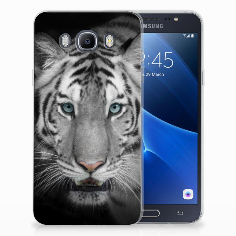 Samsung Galaxy J7 2016 TPU Hoesje Tijger