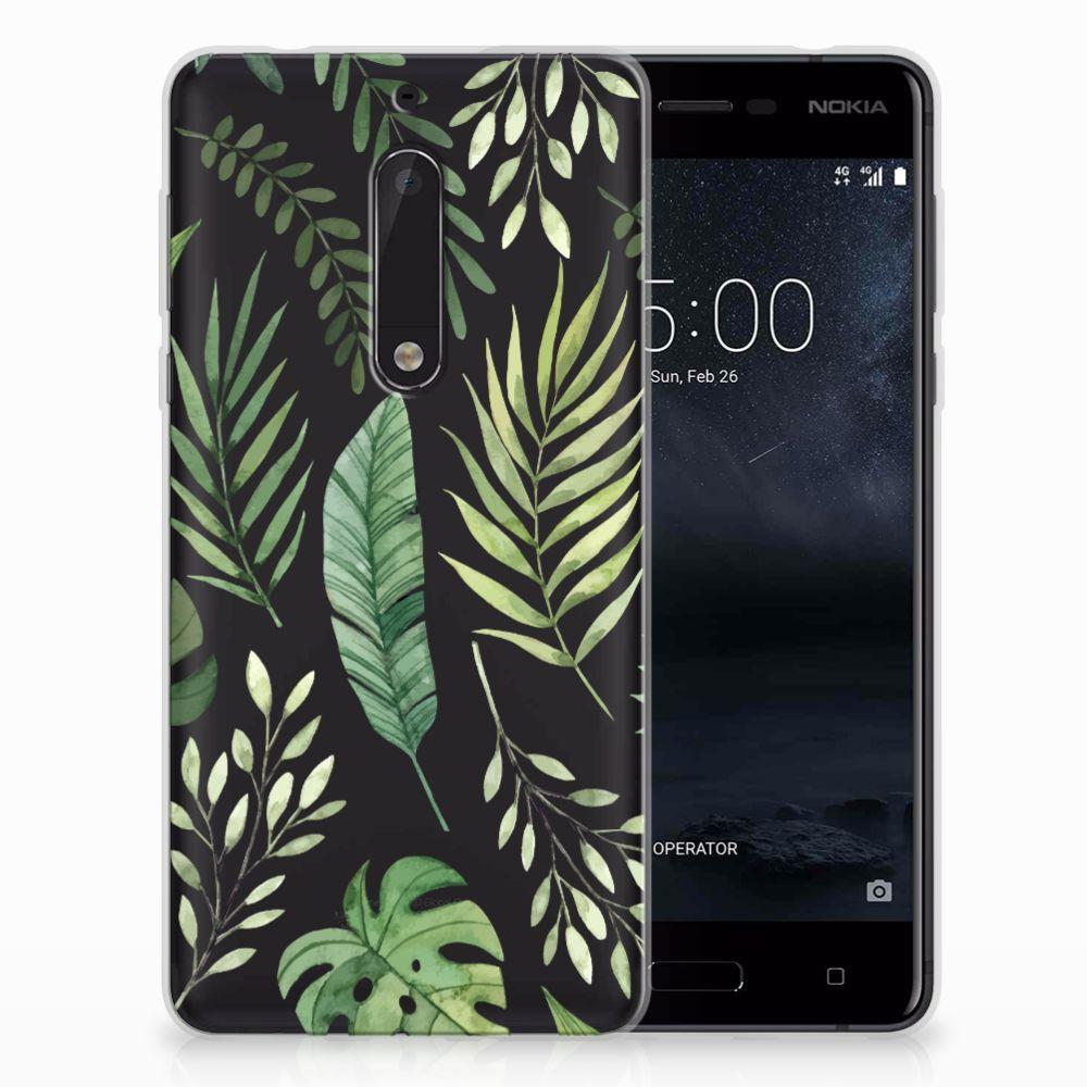 Nokia 5 TPU Case Leaves