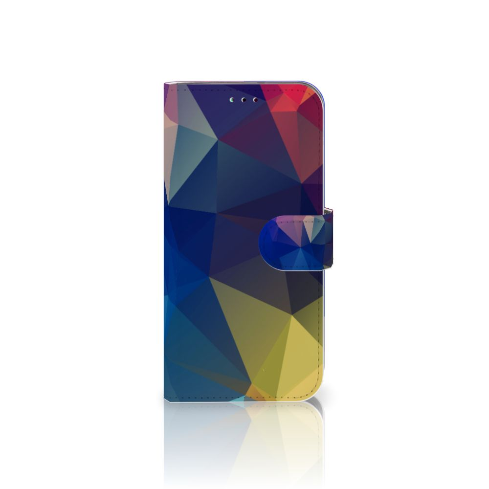Samsung Galaxy A40 Bookcase Polygon Dark
