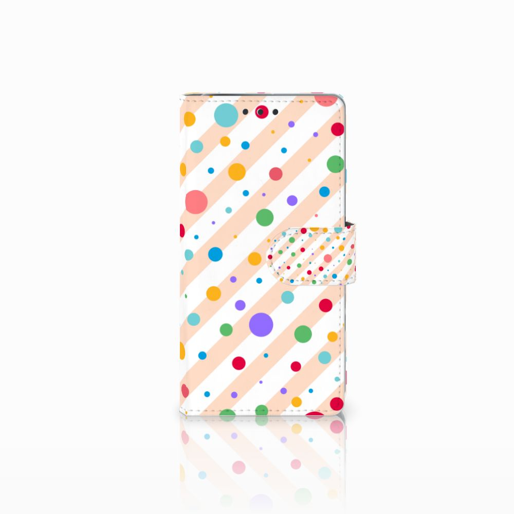 Sony Xperia X Performance Boekhoesje Design Dots