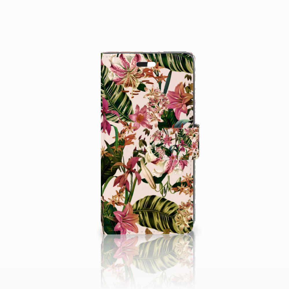 Huawei Y635 Uniek Boekhoesje Flowers