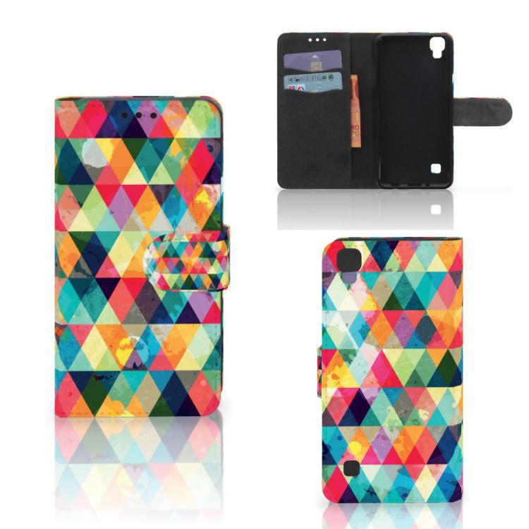 LG X Style Telefoon Hoesje Geruit