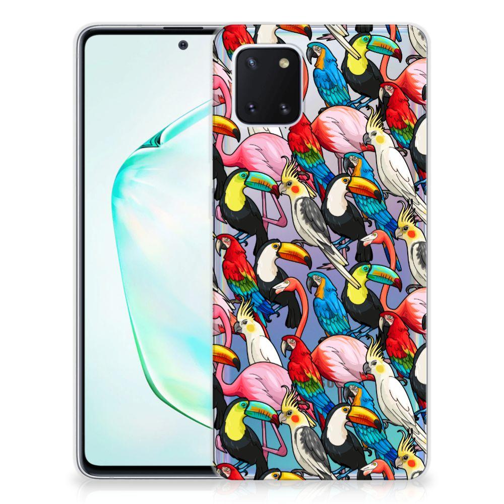 Samsung Galaxy Note 10 Lite TPU Hoesje Birds