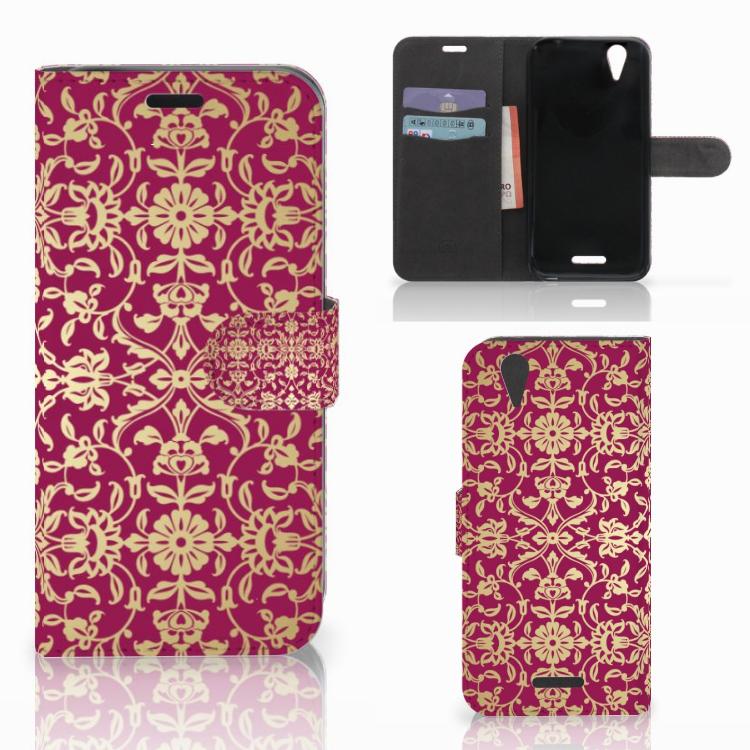 Wallet Case Acer Liquid Z630 | Z630s Barok Pink