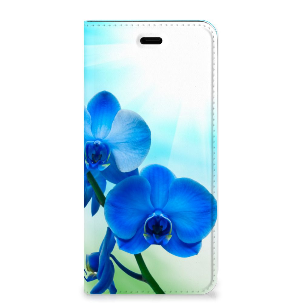 Huawei P10 Smart Cover Orchidee Blauw