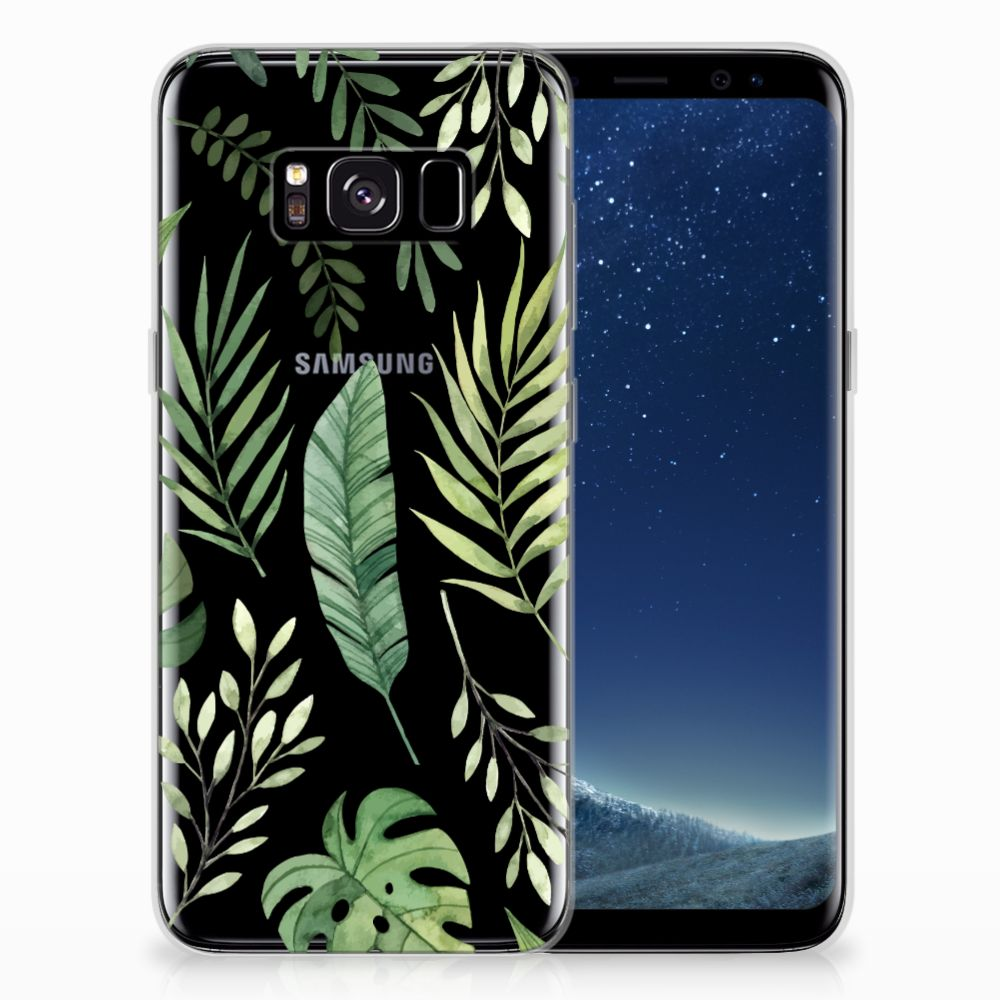 Samsung Galaxy S8 TPU Case Leaves