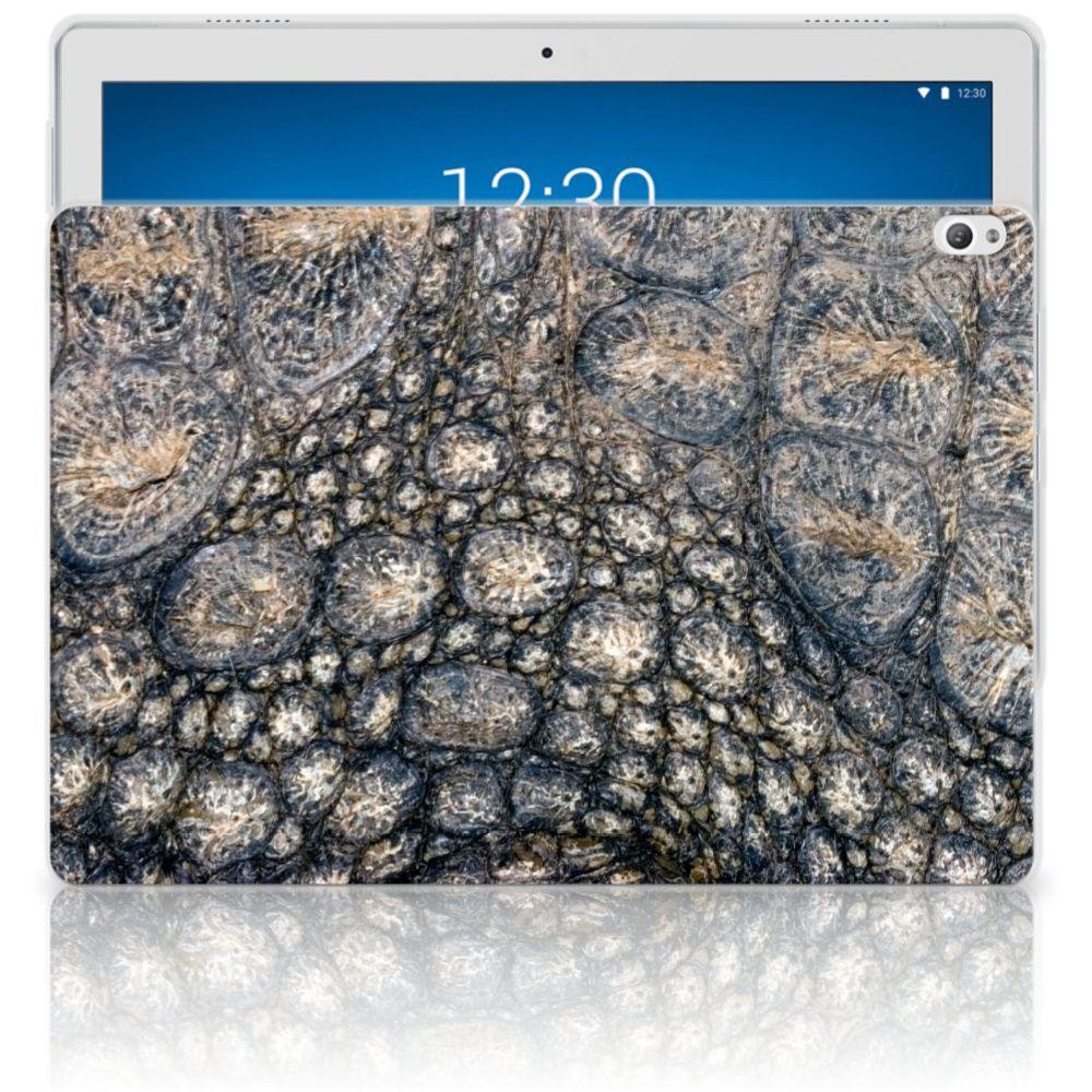 Lenovo Tab P10 Back Case Krokodillenprint