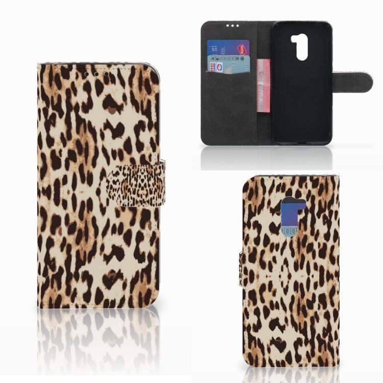 Xiaomi Pocophone F1 Telefoonhoesje met Pasjes Leopard