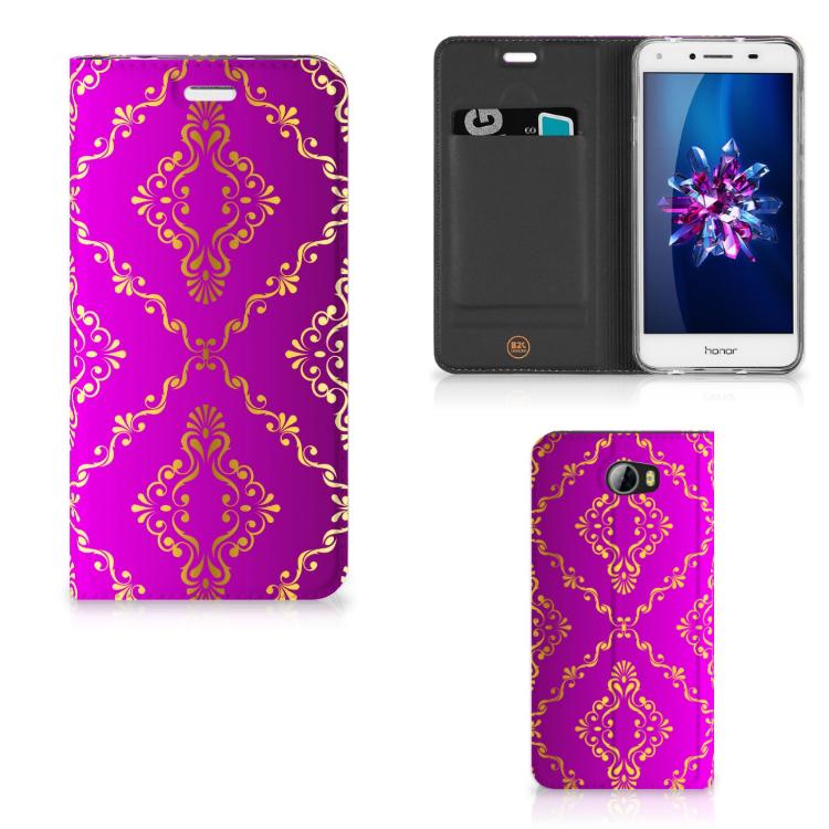Telefoon Hoesje Huawei Y5 2 | Y6 Compact Barok Roze