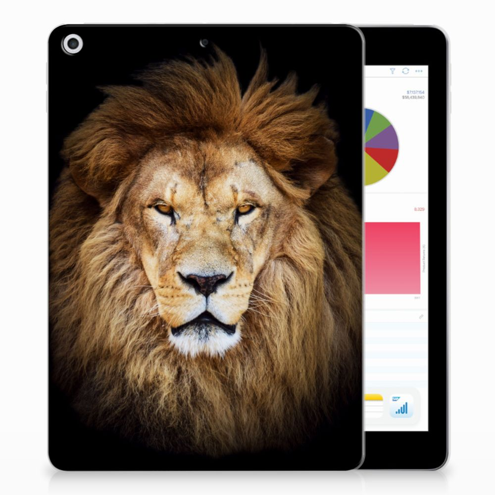 Apple iPad 9.7 2018 | 2017 Tablethoesje Design Leeuw
