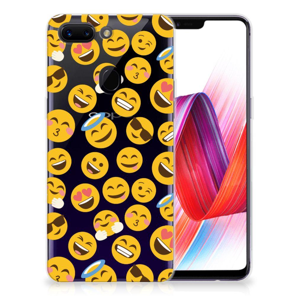 OPPO R15 Pro TPU bumper Emoji