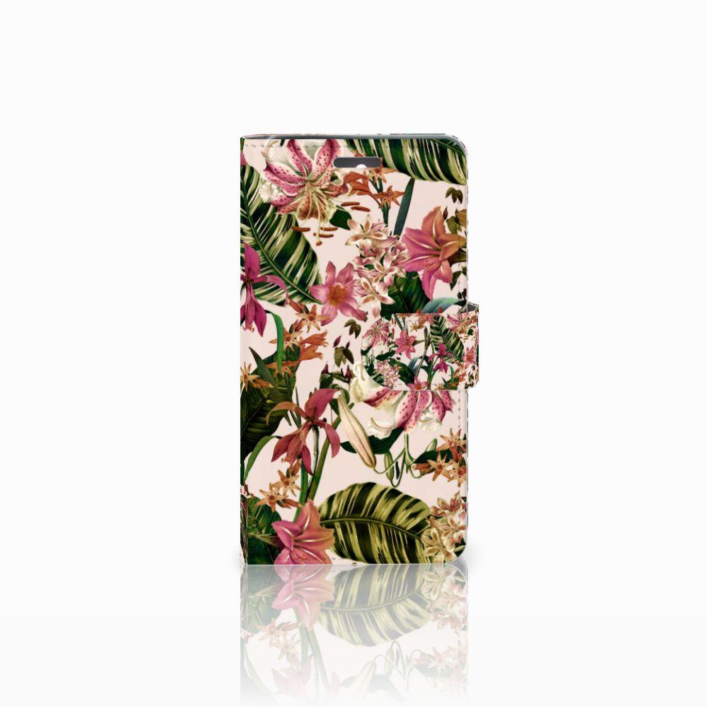 Lenovo K6 Uniek Boekhoesje Flowers