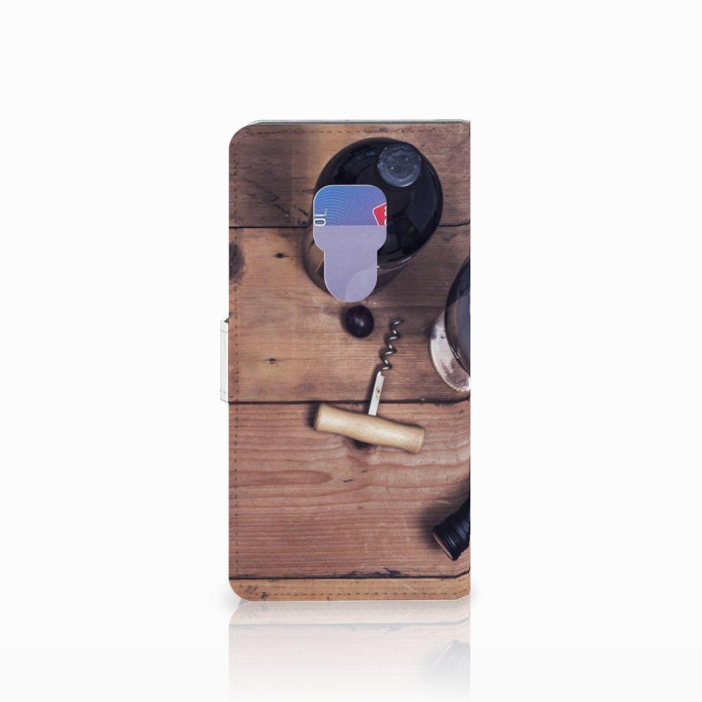 Huawei Mate 20 Book Cover Wijn