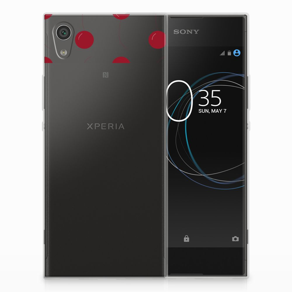 Sony Xperia XA1 Siliconen Case Cherries