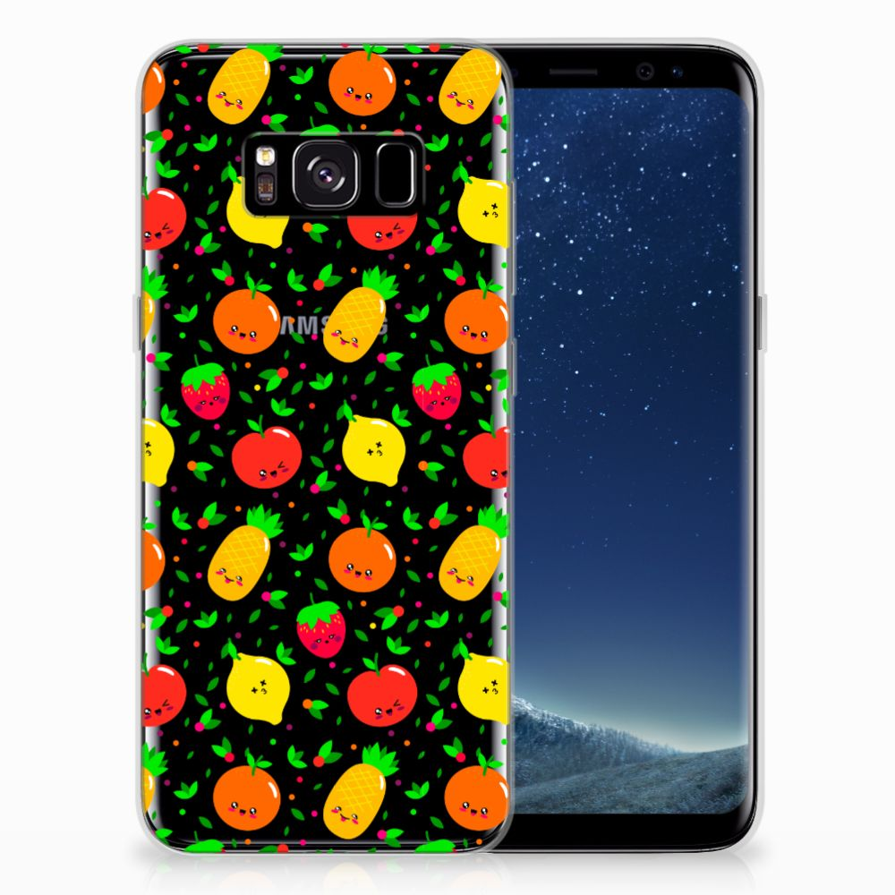 Samsung Galaxy S8 Siliconen Case Fruits