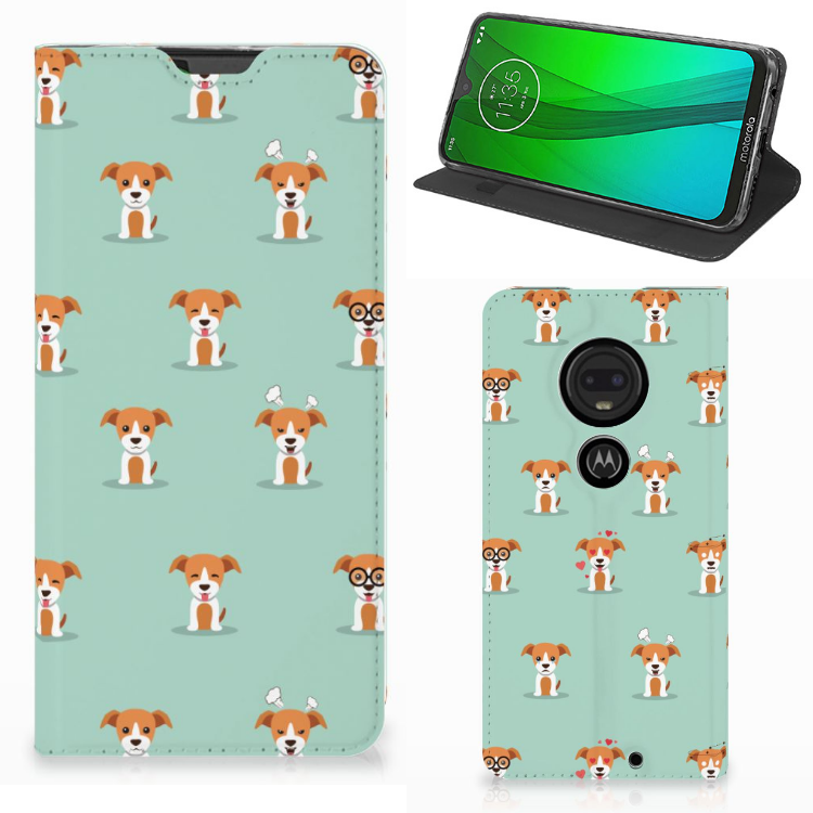 Motorola Moto G7 | G7 Plus Hoesje maken Pups
