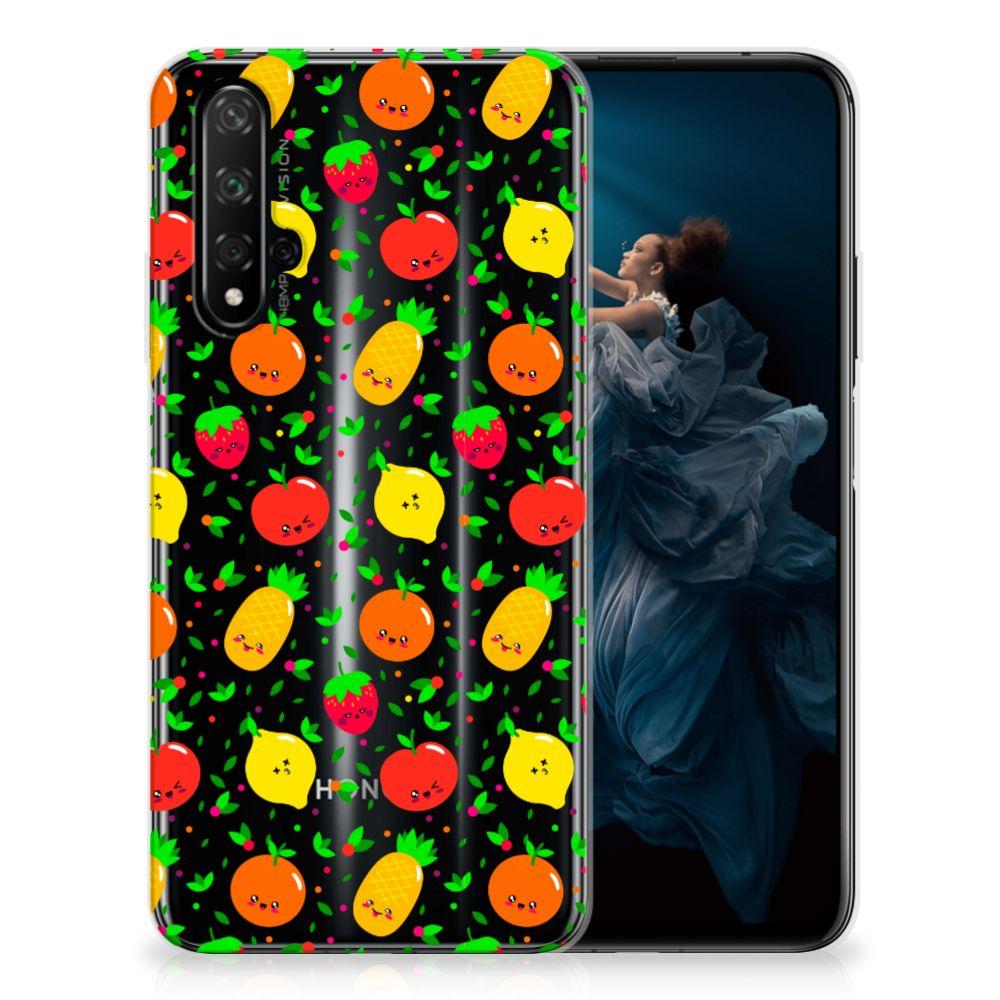 Honor 20 Siliconen Case Fruits