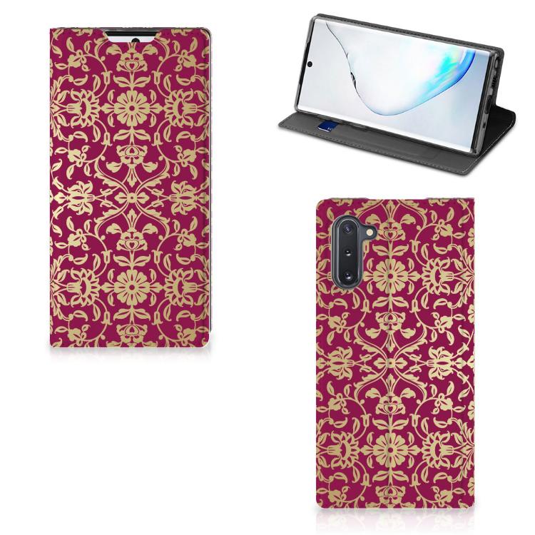 Telefoon Hoesje Samsung Galaxy Note 10 Barok Pink