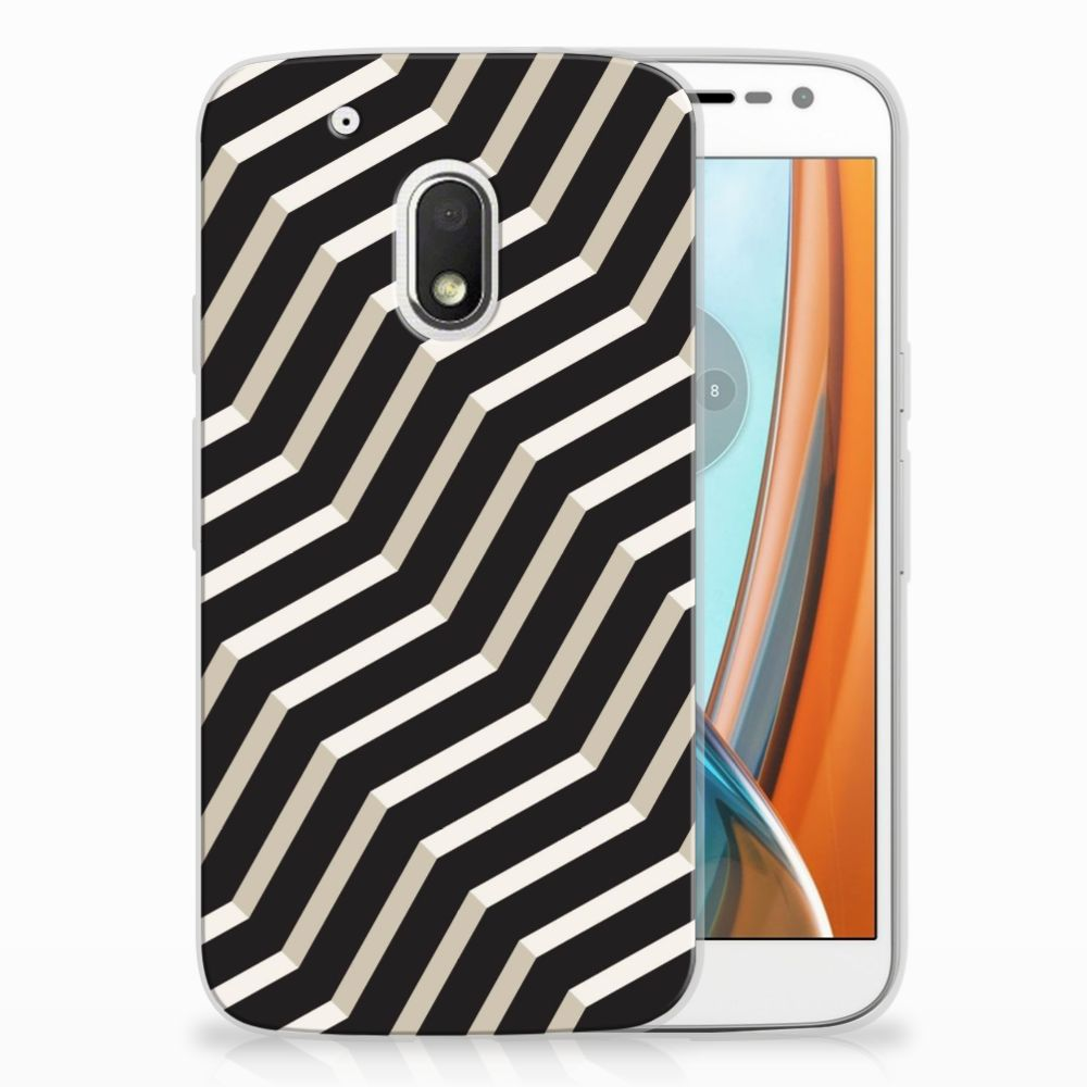 Motorola Moto G4 Play TPU Hoesje Design Illusion