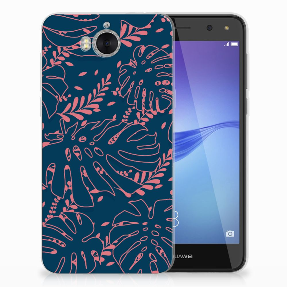 Huawei Y5 2017 | Y6 2017 TPU Case Palm Leaves