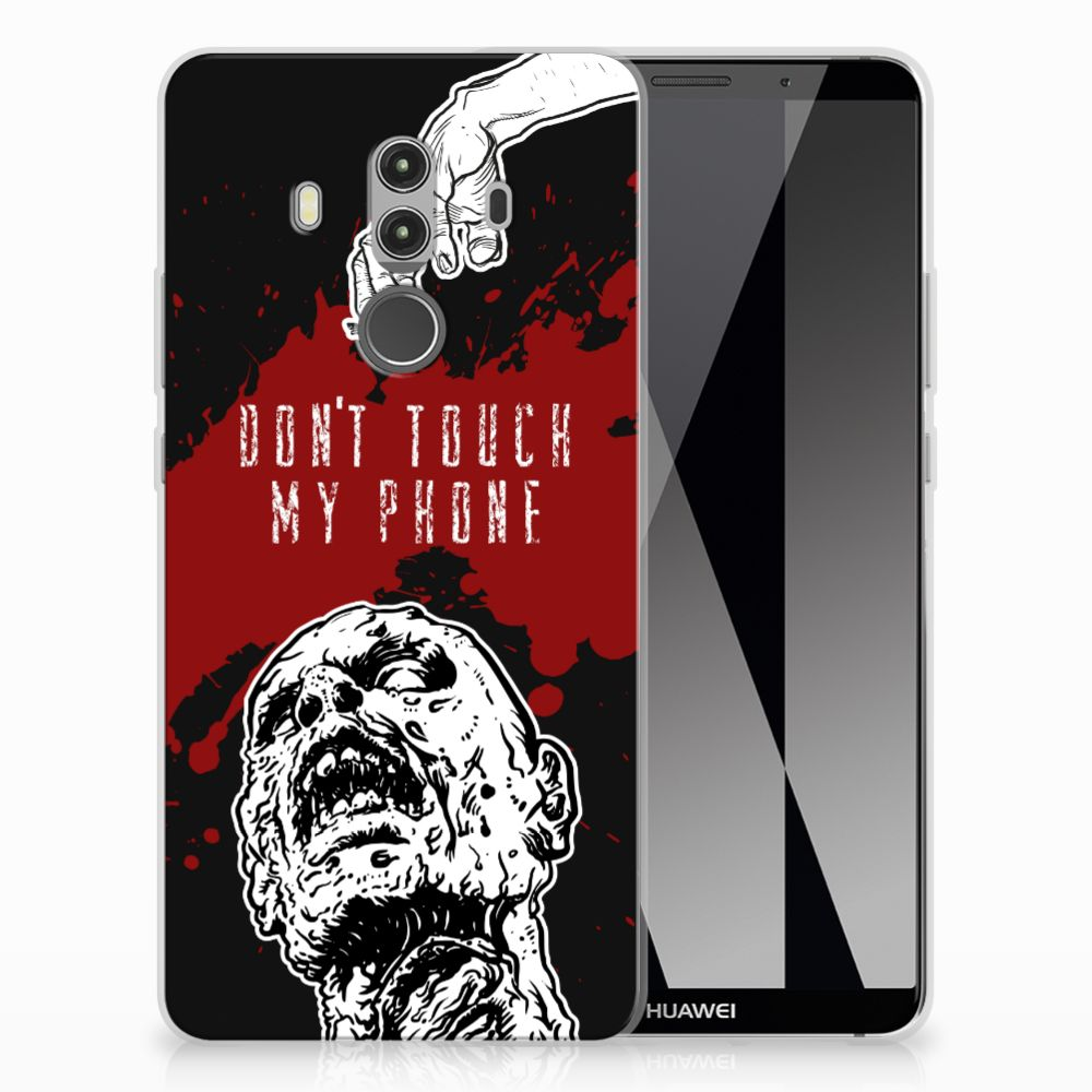 Huawei Mate 10 Pro Silicone-hoesje Zombie Blood