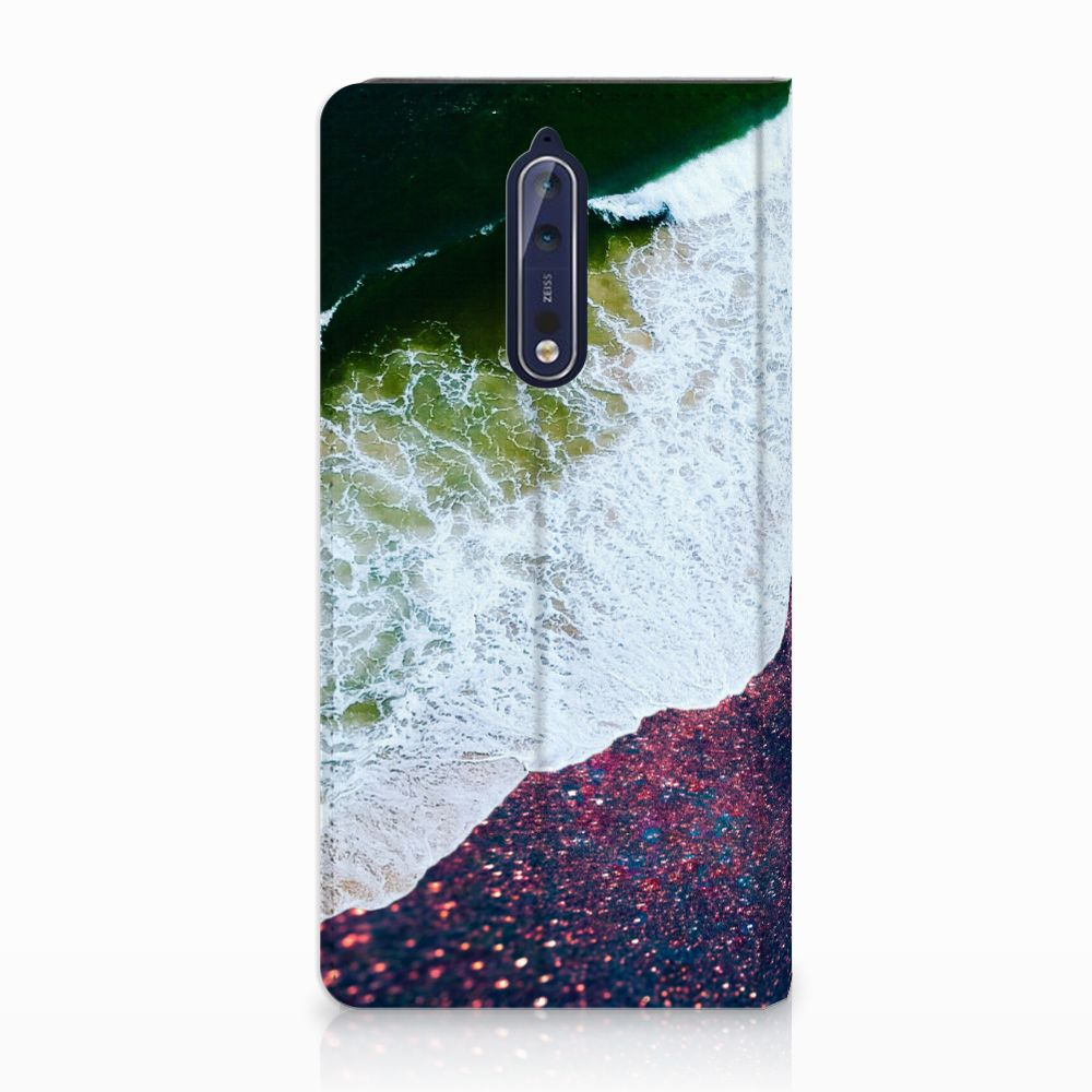 Nokia 8 Stand Case Sea in Space
