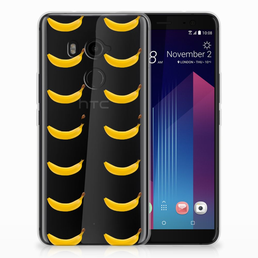 HTC U11 Plus Siliconen Case Banana