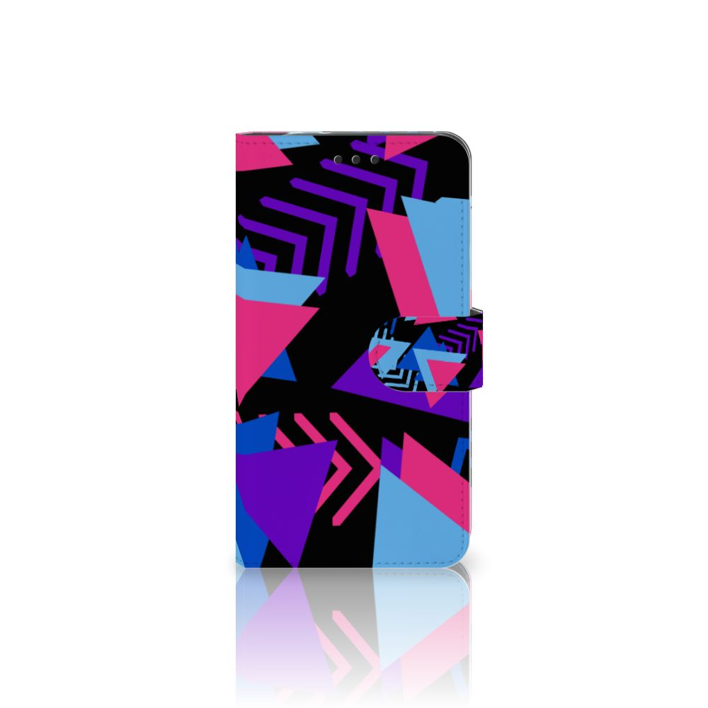 Motorola Moto Z2 Force Bookcase Funky Triangle